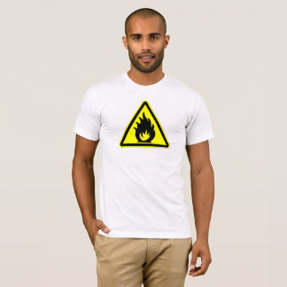 Caution Fire T-Shirt