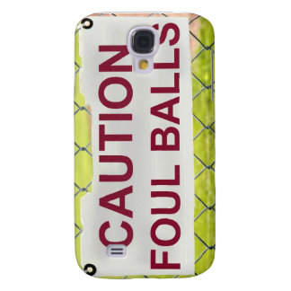 Caution Foul Balls Sign iPhone Case