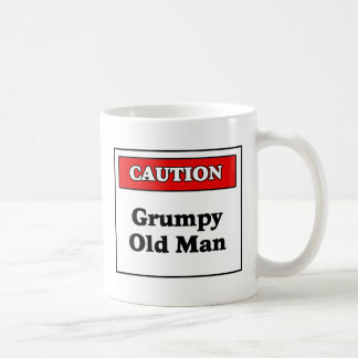 Caution Grumpy Old Man Coffee Mug