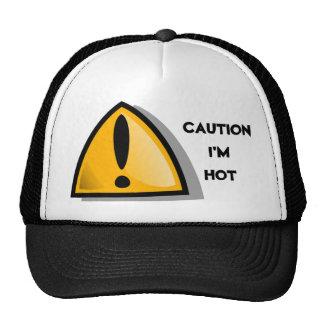 CAUTION I'M HOT CAP