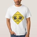 Caution: Jazz Hands Tee Shirts