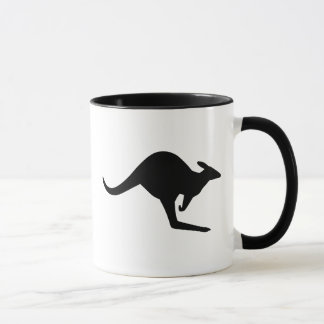 Caution Kangaroo Mug