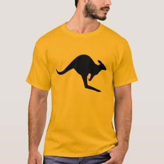 Caution Kangaroo T-Shirt