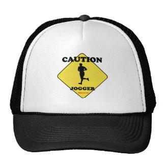 Caution Male Jogger Cap