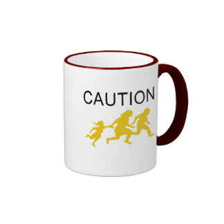 Caution Ringer Mug