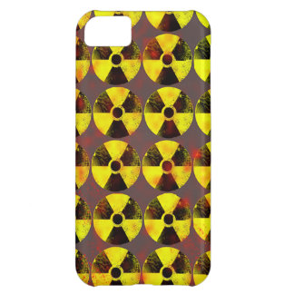 caution, nuclear energy iPhone 5C case