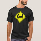 CAUTION - Pinball Wizard Player XING funny arcade T-Shirt