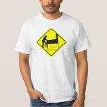 CAUTION - Pinball Wizard Player XING funny arcade T Shirts