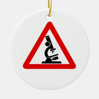 Caution:  SCIENCE! Christmas Ornament