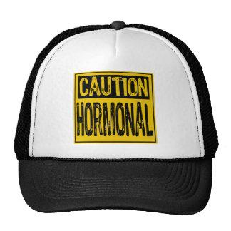 Caution Sign - Hormonal Yellow/Black Hats