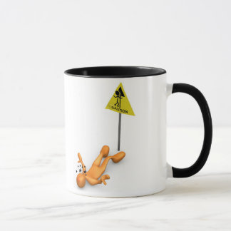 Caution Sign Mug