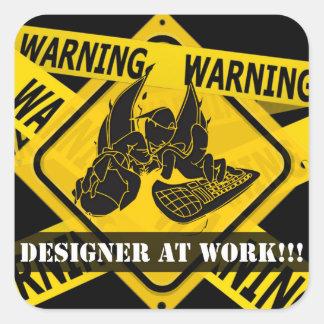 Caution Sticker