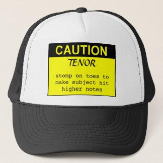 Caution: Tenor Trucker Hat
