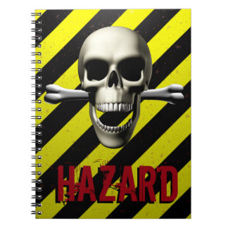 Caution Warning Notebook