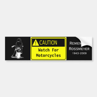 Motorcycle Safety Bumper Stickers - Car Stickers | Zazzle.co.uk
