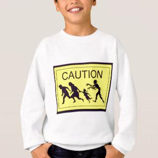 Caution Zombies Sweatshirt
