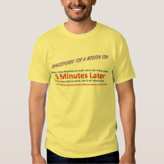 Cautionary Tale T-shirts