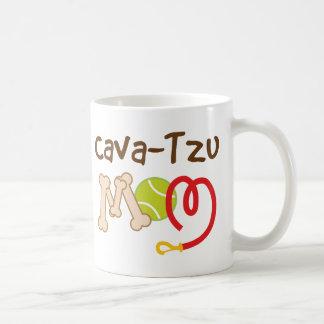 Cava-Tzu Dog Breed Mom Gift Classic White Coffee Mug