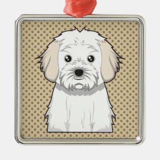 Cavachon Cartoon Christmas Ornament