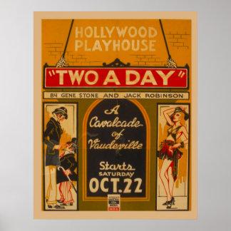 Cavalcadevaudeville 1938 WPA Vintage Poster