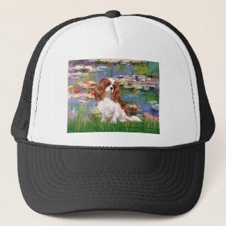 Cavalier 2 (bl) - Lilies 2 Trucker Hat