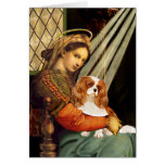 Cavalier 2 (Bl) - Madonna Greeting Card