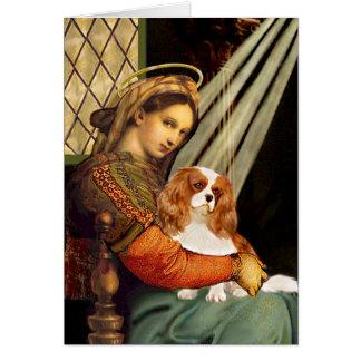Cavalier 2 (Bl) - Madonna Greeting Card