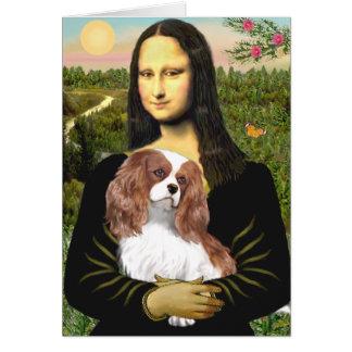 Cavalier 2 (Bl) - Mona Lisa Greeting Card