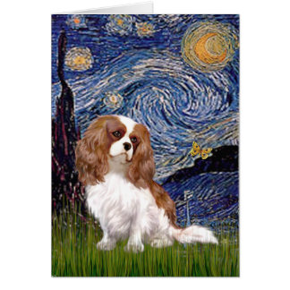 Cavalier 2 (Bl) - Starry Night Card