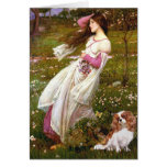 Cavalier 2 (Bl) - Windflowers Greeting Card