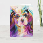 Cavalier Art Greeting Card
