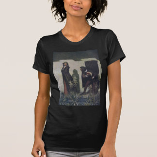 Cavalier Bowing to Woman T Shirts