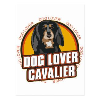 Cavalier Dog Lover Postcard