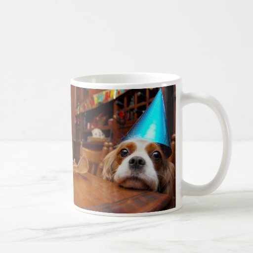 Cavalier King Charles Birthday Mug