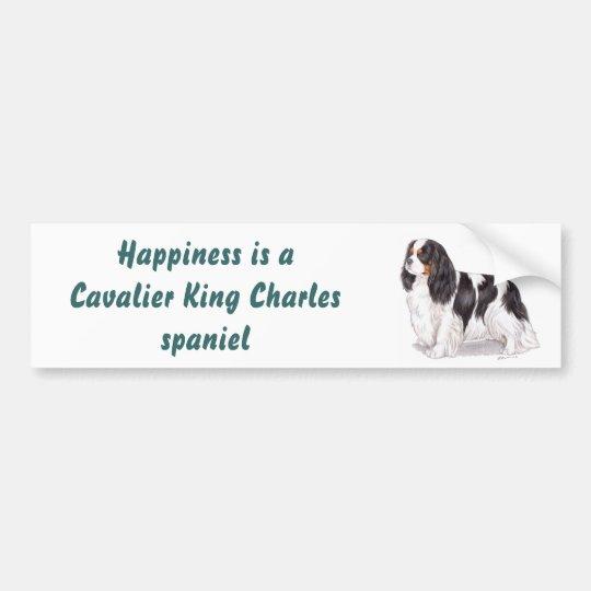 Cavalier king charles bumper sticker
