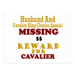 Cavalier King Charles  & Husband Missing Reward Fo