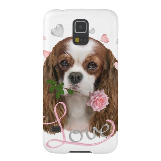 Cavalier King Charles Love Galaxy S5 Covers
