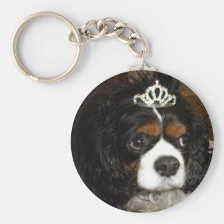 cavalier king charles princess key ring