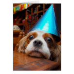 Cavalier King Charles Spaniel Birthday Greeting Card