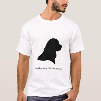 Cavalier King Charles Spaniel - black Silhouette T-Shirt
