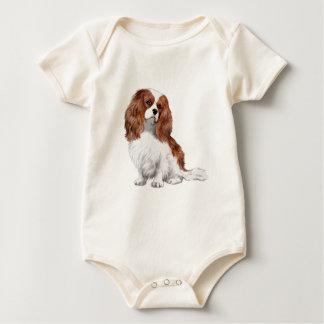 Cavalier King Charles Spaniel (Blenheim A) Baby Bodysuit