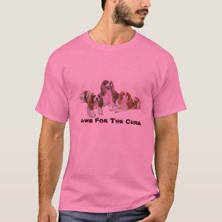 Cavalier King Charles Spaniel Breast Cancer Shirt