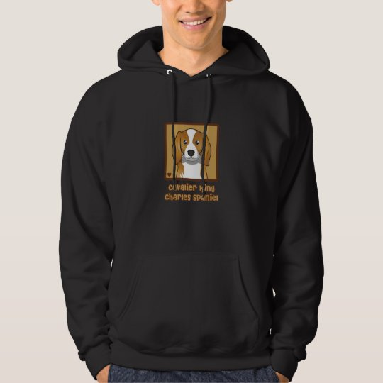 Cavalier King Charles Spaniel Cartoon Hoodie
