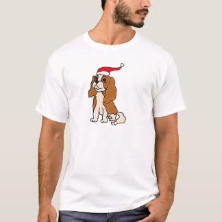 Cavalier King Charles Spaniel Christmas Art T-Shirt