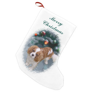 Cavalier King Charles Spaniel Christmas Small Christmas Stocking
