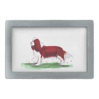 Cavalier King Charles Spaniel CKC Rectangular Belt Buckle