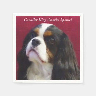 Cavalier King Charles Spaniel Cocktail Napkins Disposable Serviettes