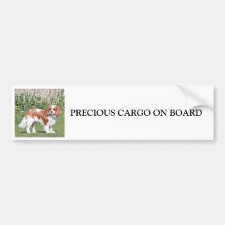 Cavalier King Charles Spaniel custom sticker