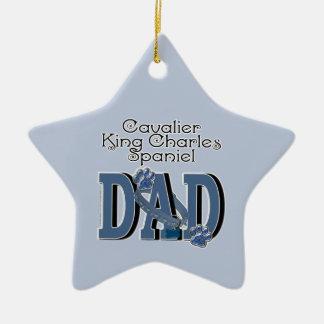 Cavalier King Charles Spaniel DAD Christmas Ornament