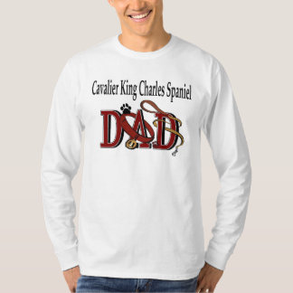 Cavalier King Charles Spaniel DAD Gifts T-Shirt